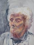 Joan by Sarah Luton, Painting, Oil on Board