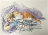 Sammy Missed You by Sarah Luton, Painting, Watercolour on Paper